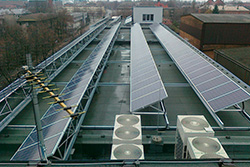 Picture of 60 kWp PV system