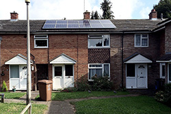 Picture of 3 kWp PV system