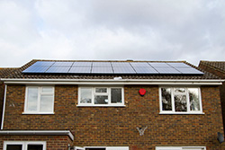 Picture of 4 kWp PV system