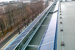 Picture of 50 kWp PV system