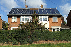 Picture of 3.5 kWp PV system