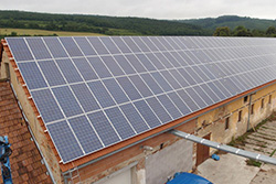 Picture of 100 kWp PV system