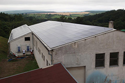 Picture of 95 kWp PV system